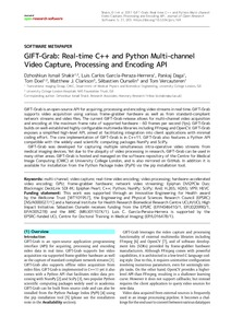 GIFT-Grab: Real-time C++ and Python multi-channel video capture