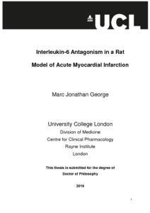 Acute myocardial infarction thesis help with  environmental studies dissertation hypothesis