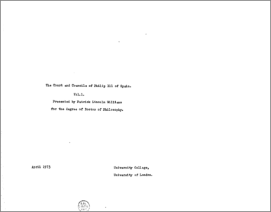 duke library thesis