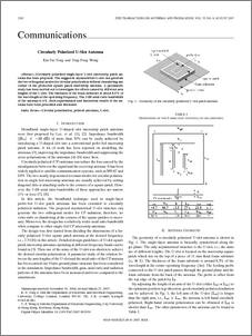 thesis report on microstrip antenna
