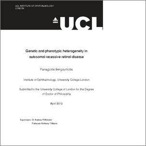 Phd thesis population genetics