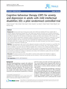 Cognitive behaviour therapy (CBT) for anxiety and depression