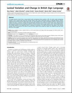 bsl research paper