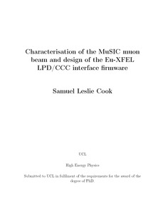 Characterisation of the MuSIC muon beam and design of the Eu