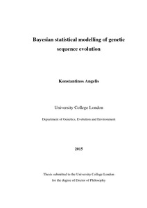 Bayesian mixture models for metagenomic community profiling   UCL     Why Bayesian methods in marine spatial planning