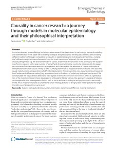 Causality research