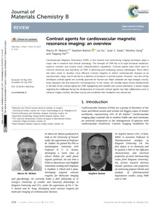Contrast agents for cardiovascular magnetic resonance imaging: an