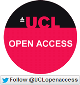 Twitter label for UCL Open Access